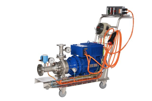 Mobile Pumpe