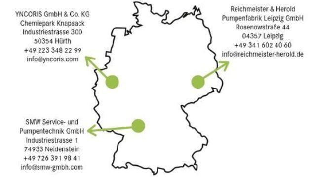 Lokaler Service und rasche Reparaturlösungen für die Kunden der CP Pumpen GmbH