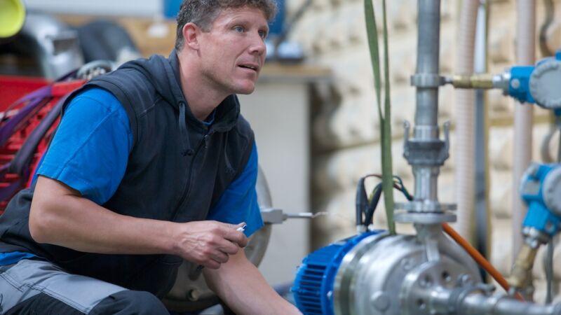 CP Pumpen fördert schwierige Flüssigkeiten