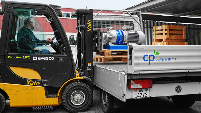 Safe centrifugal pumps from CP Pump Systems - The pump manufacturer from Switzerland brightens up your holidays.