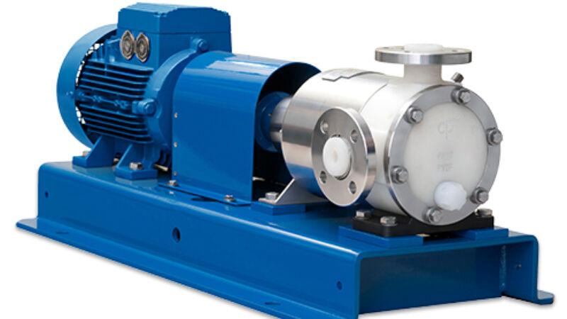 La sécurité au maximum - MSKPP, pompe centrifuge à accouplement magnétique sans joint, en PTFE massif