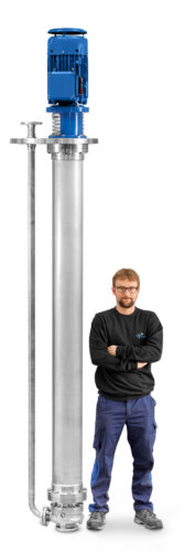 CP MKTP Magnetic Drive Chemical Process Sump Pump