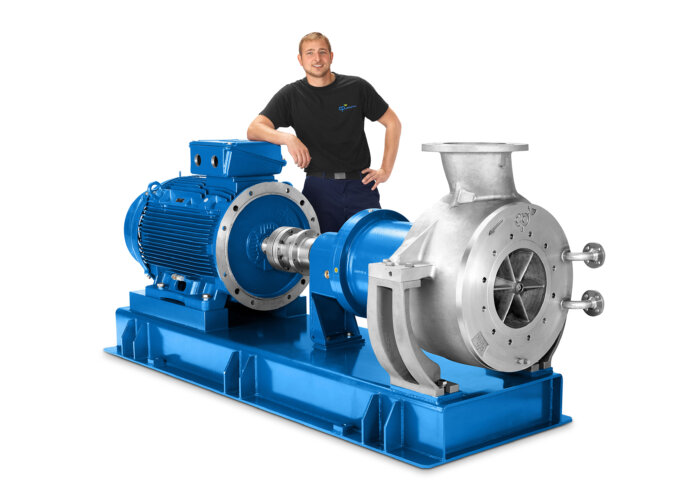 CP Stainless Steel Magnetic Drive Chemical Process Pump