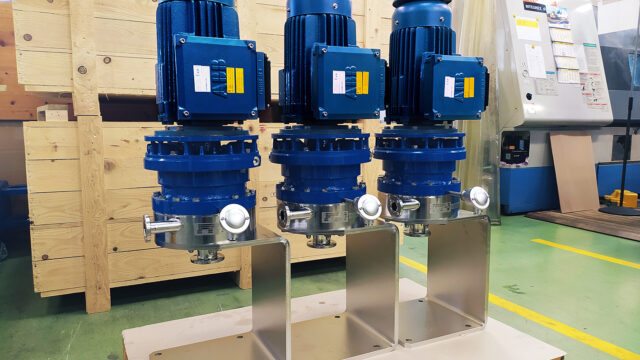 Space-Saving Centrifugal Pump in Pharmaceutical Production